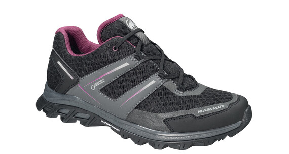 Mammut MTR 71 Trail Low GTX Shoes Women black-graphite